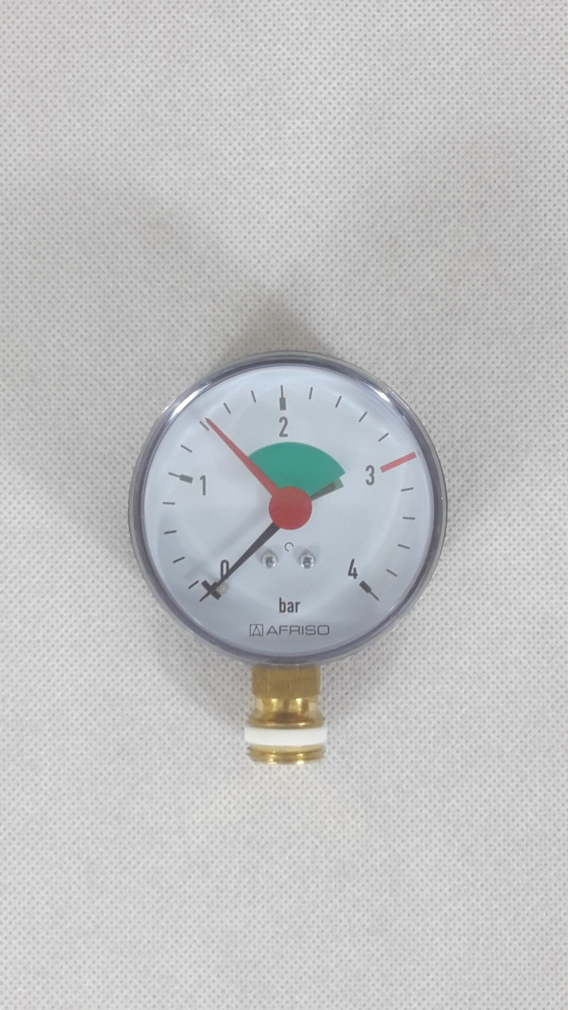 Heizungsmanometer 63mm radial