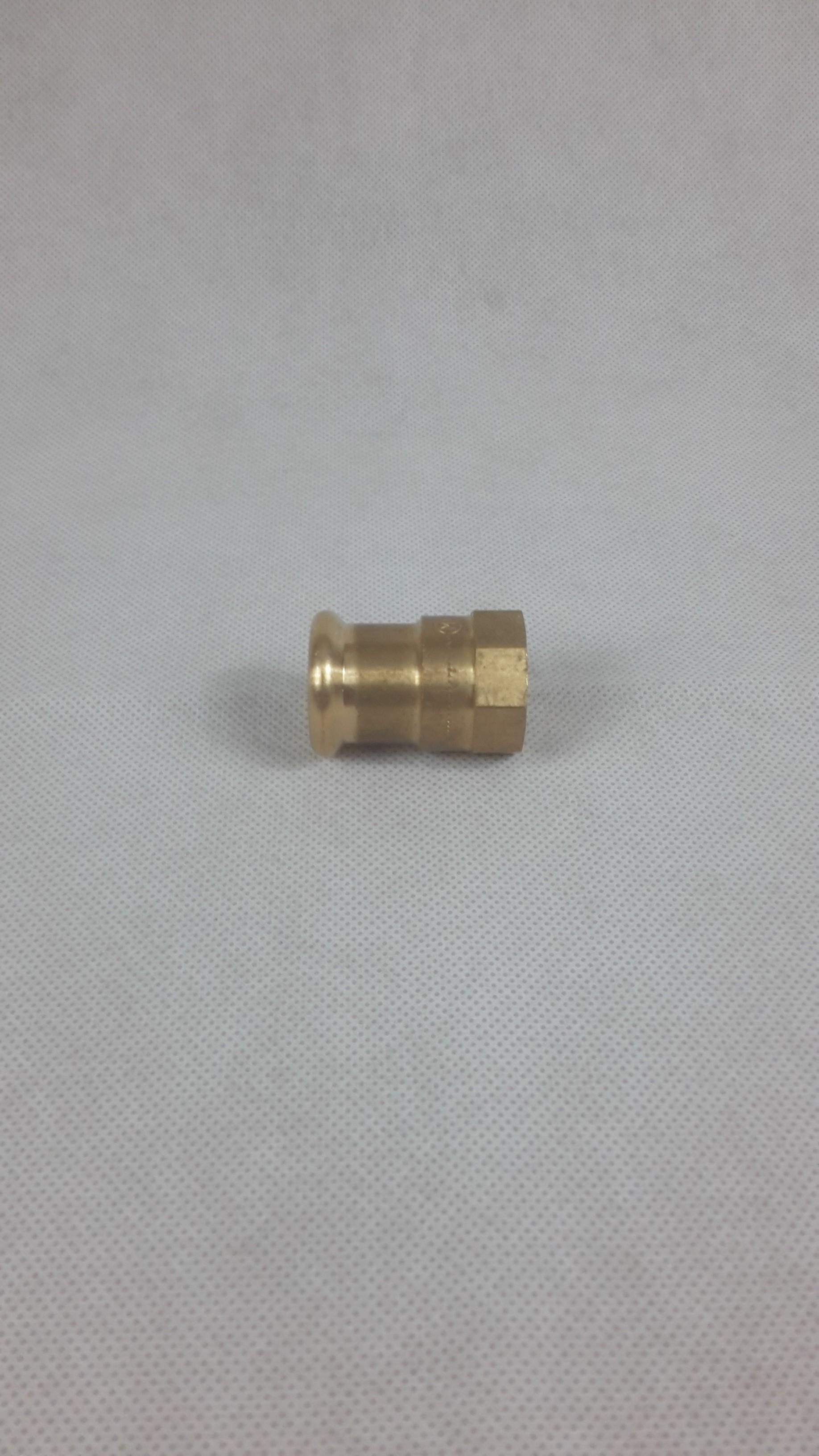 Pressfitting M-Kontur Kupfer Übergang IG