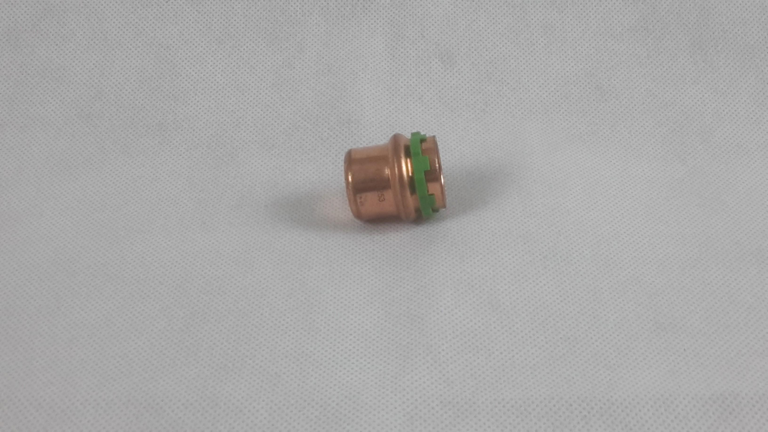 Pressfitting Kupfer Kappe Sudo