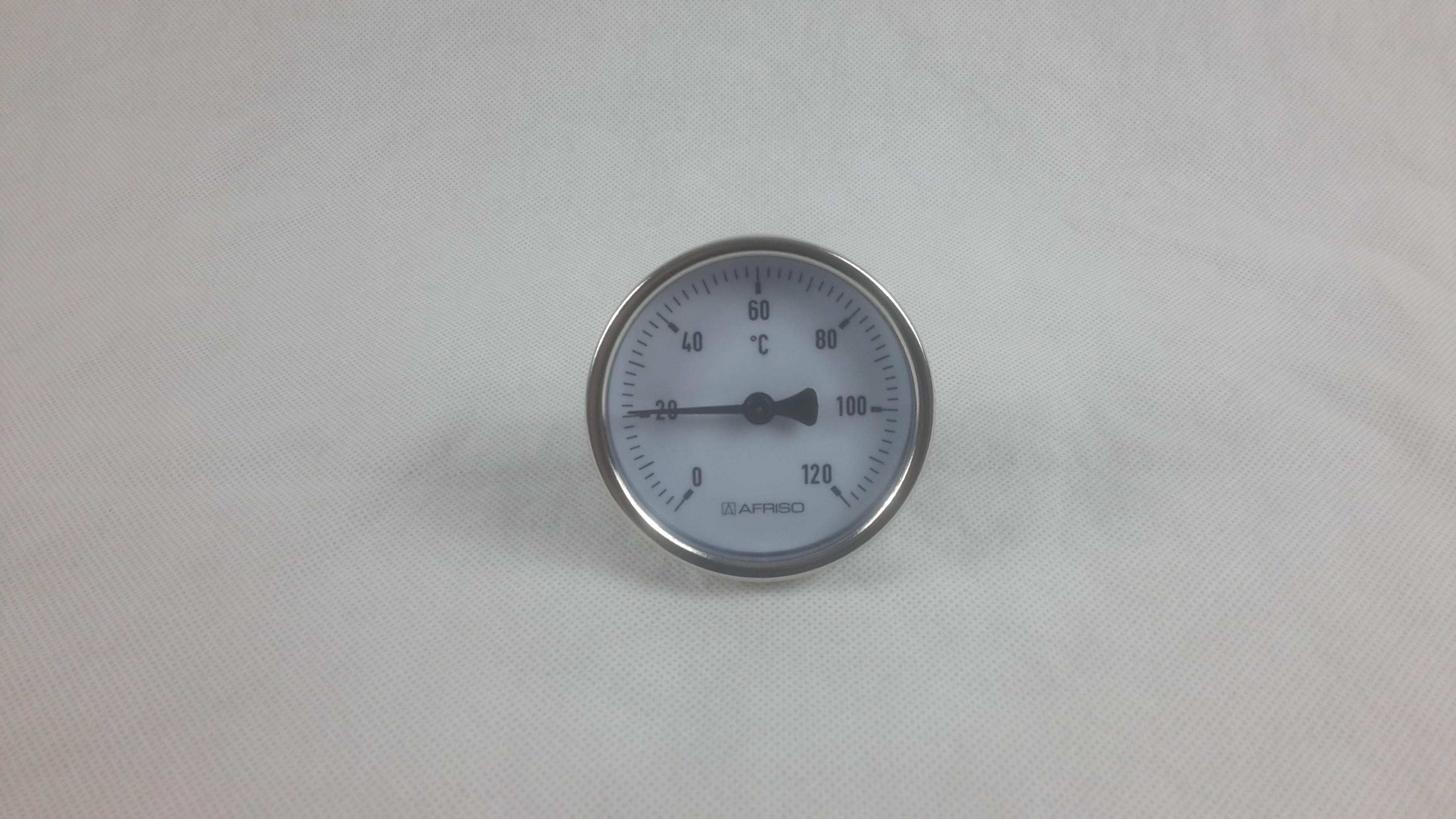 Bimetall Zeigerthermometer mit Stahlblechgehäuße