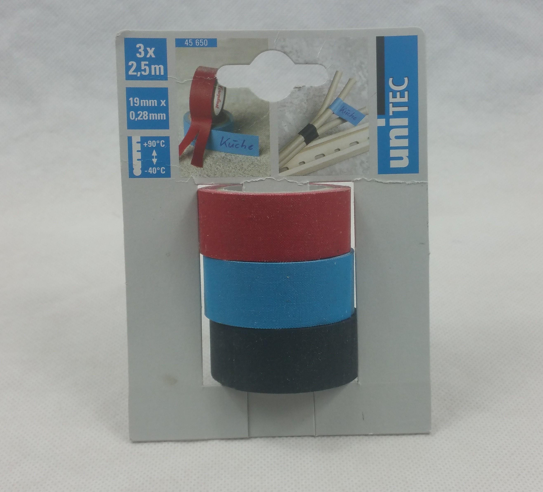 Gewebeband 3-Set