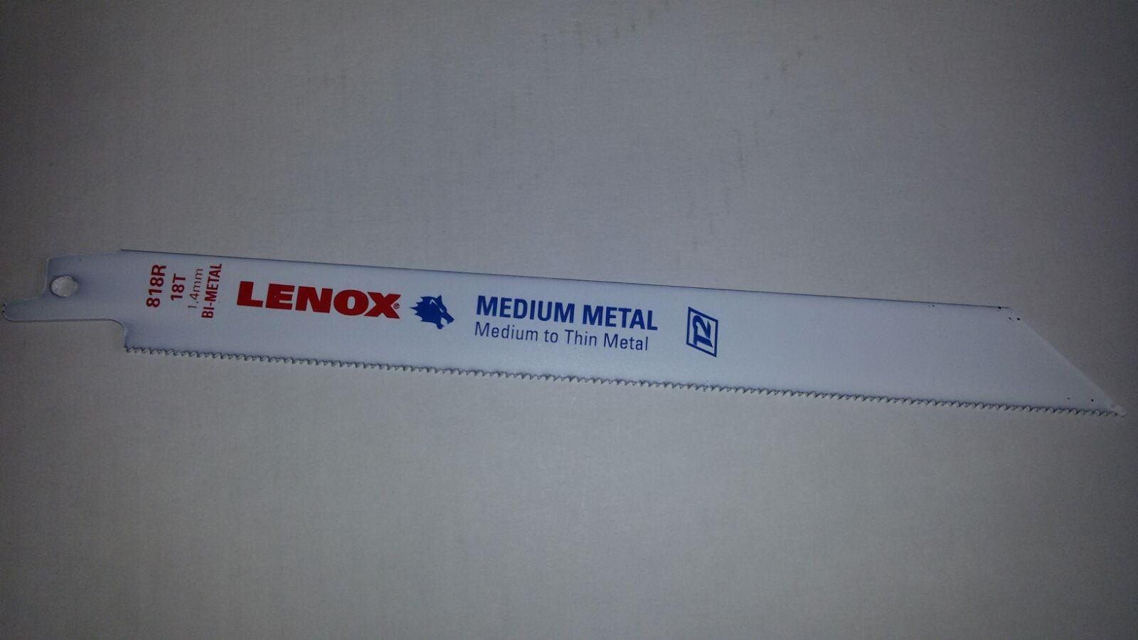 Säbelsägeblätter S-Universalschaft für Metall 205mm