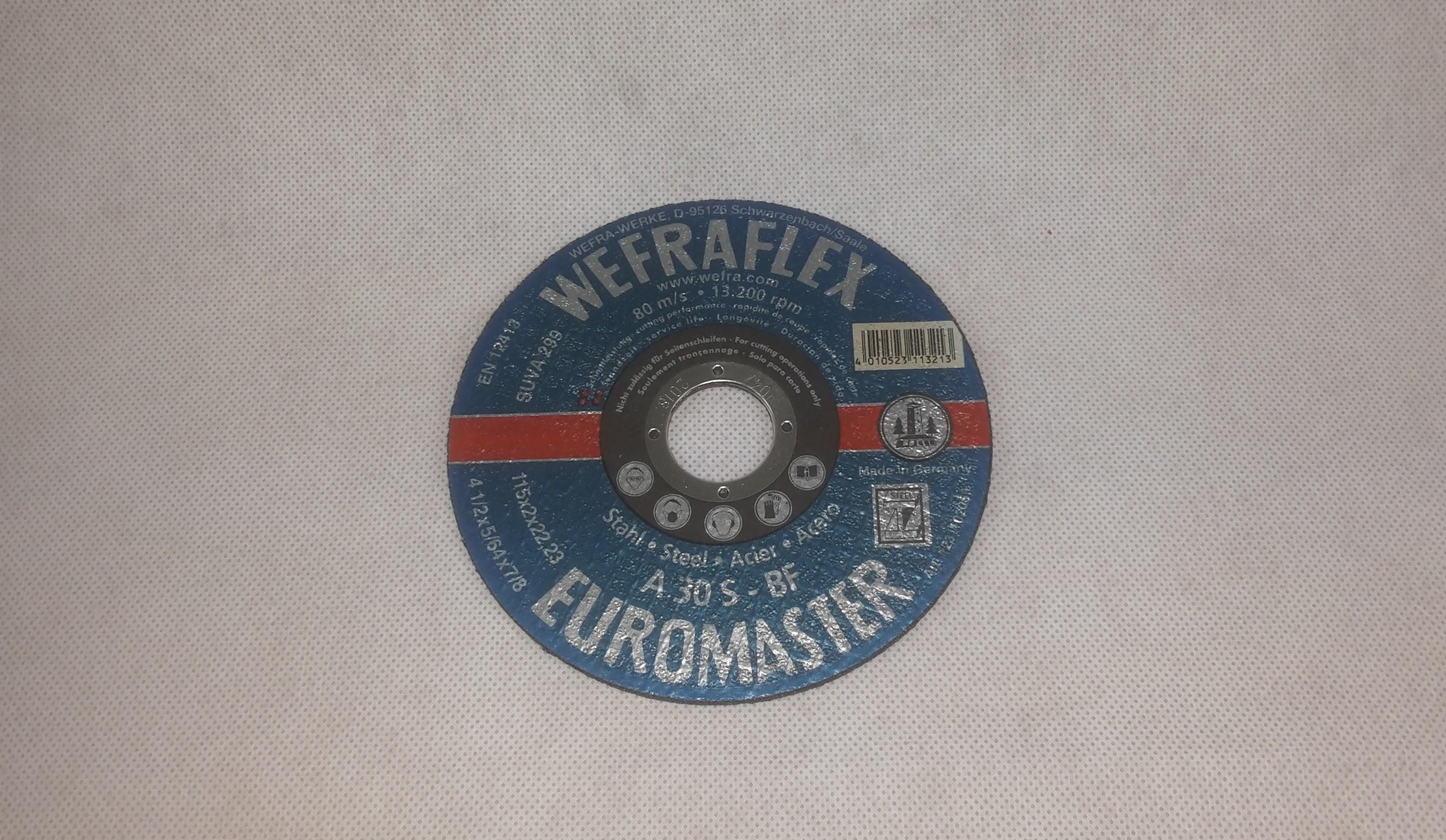 Trennscheibe Euromaster Metall