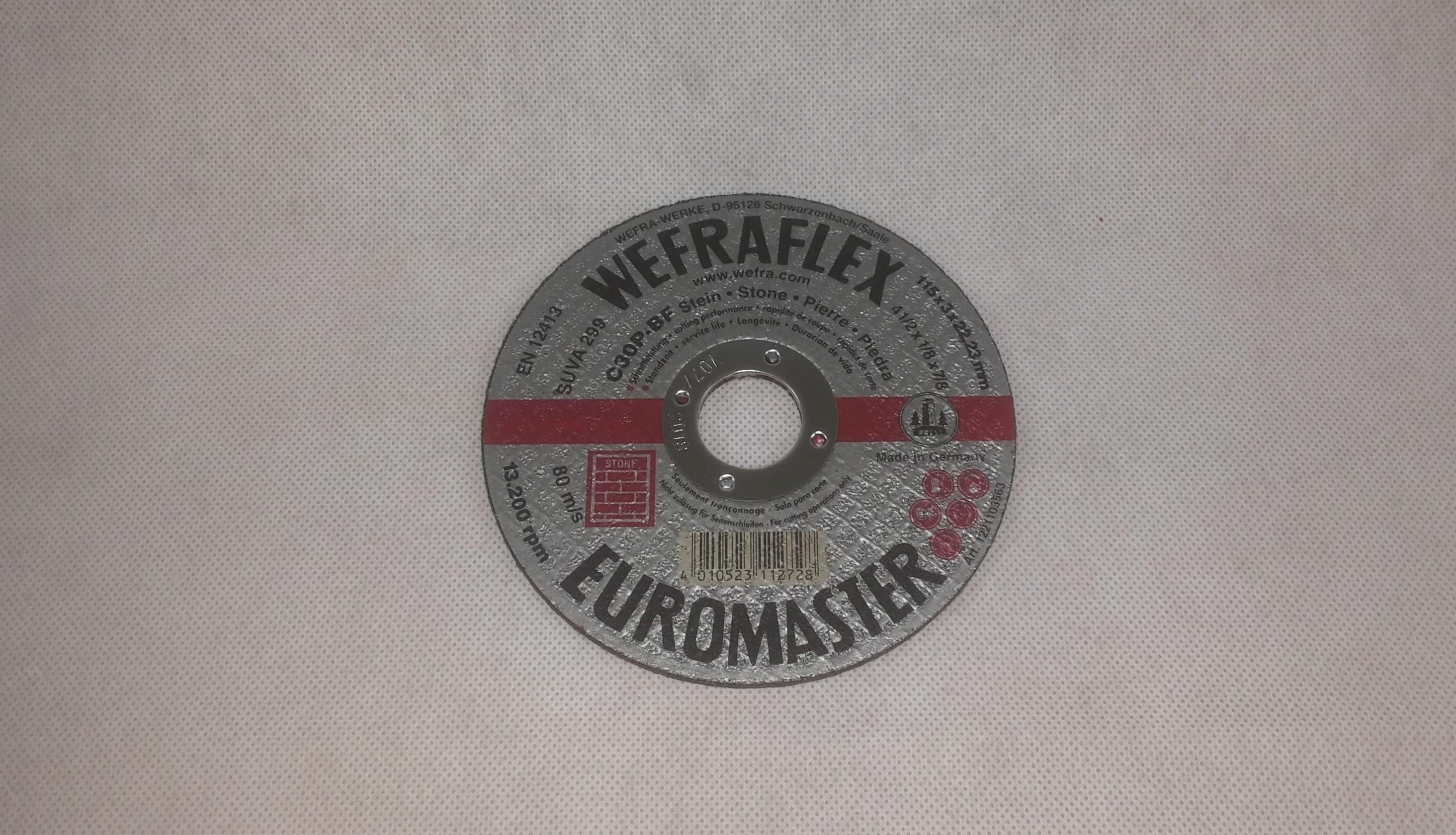 Trennscheibe Euromaster Stein