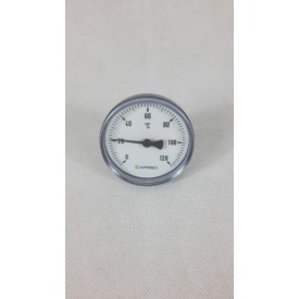 Bimetall Thermometer 63mm axial DN 15