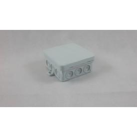 Feuchtraum Abzweigdose 12 selbstdichtenden Einführungen 85x85x3,7mm